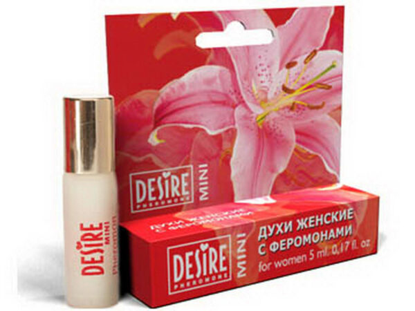 Духи женские Desire Pheromone с феромонами, 5 мл, mini-blister, №17