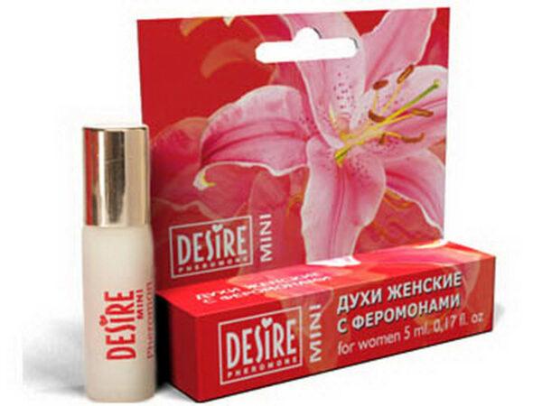 Духи женские Desire Pheromone с феромонами, 5 мл, mini-blister, №14